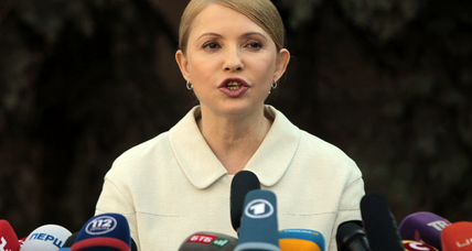 Yulia Tymoshenko, freed from prison, to run for Ukraine president