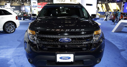 The top-selling cop car is a Ford Explorer