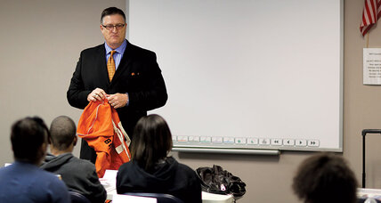Sam Bracken's Orange Duffel Bag project helps at-risk former foster kids