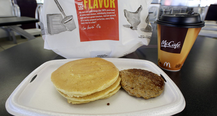 Free coffee at McDonald's as breakfast competition heats up (+video)