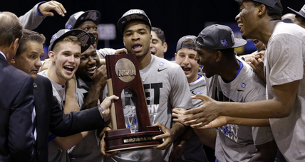 Final Four: No upstarts or Cinderella, plenty of chips on shoulders