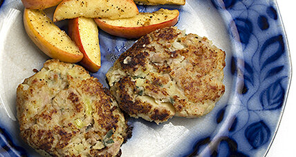 Two Irish cookbooks, one hearty weeknight meal: Pork and potato cakes