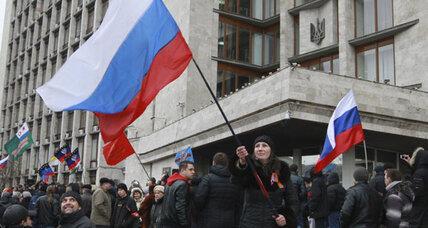 Ukraine crisis ratchets up as some Crimeans welcome Russian troops
