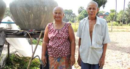 Local advisers deliver products and profits to Cambodia's rural farmers