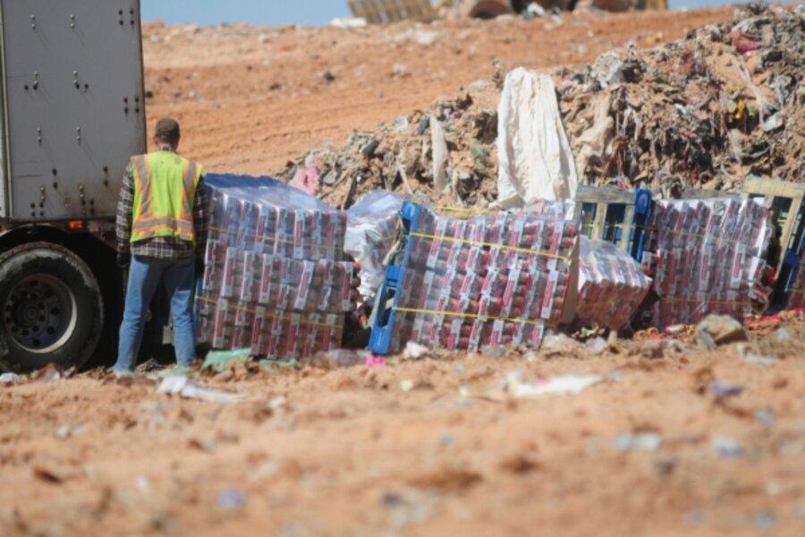 Peanut butter dumped in landfill  Costco blamed  - CSMonitor com