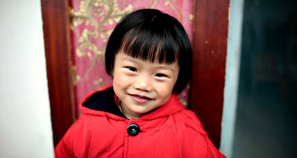 A rainbow for China's orphans