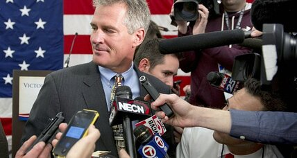Can Scott Brown fight off 'carpet bagger' charge in New Hampshire? (+video)