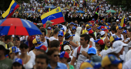 Chavez' legacy fades in Venezuela as crowds fill the streets