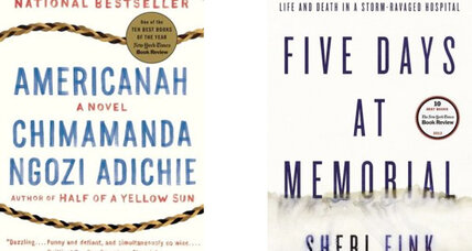 National Book Critics Circle select 'Americanah,' 'Five Days at Memorial' as winners