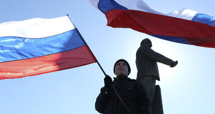 Crimea to Russia: We're ready to be annexed