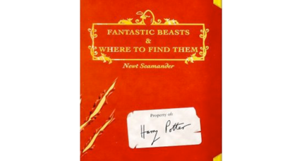 'Fantastic Beasts and Where to Find Them' Potter book will be a film trilogy (+video)