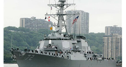 USS Mahan: Shooter stole the gun from a sailor, says Navy