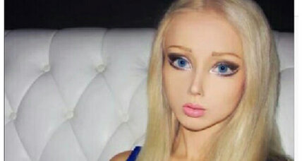Valeria Lukyanova: 'Human Barbie' distracts from Ukraine news