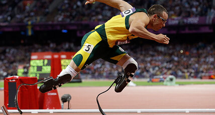 How did Oscar Pistorius lose his legs?
