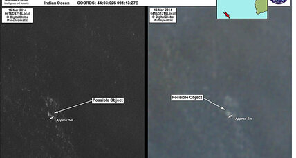 Malaysia Airlines Flight 370: 'Credible' debris spotted in Indian Ocean