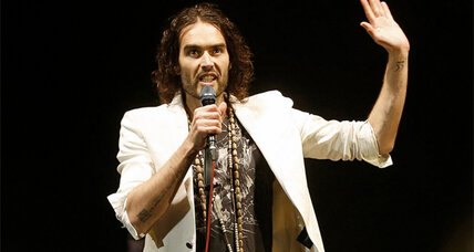 Russell Brand's new book will focus on his political views