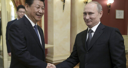 How US-Russia tensions boost Beijing