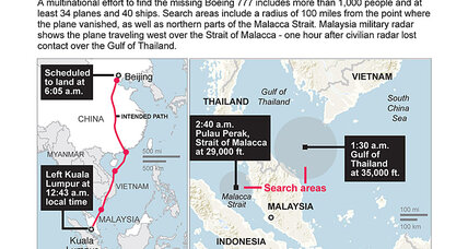 Malaysia Airlines flight 370: Why the search has shifted dramatically