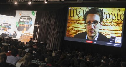 Listening to Edward Snowden at SXSW (+video)