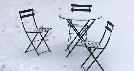 Outdoor furniture ideas, for when the snow melts