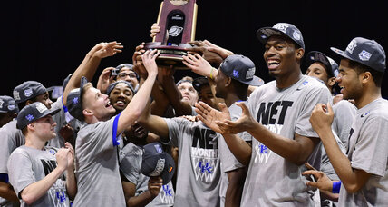 After wild weekend, NCAA 'Final Four' teams set for national championship push (+video)