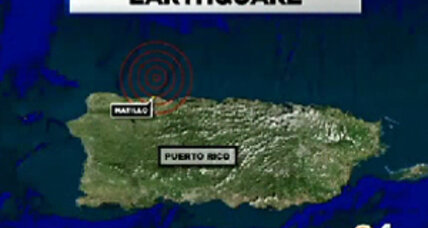 Puerto Rico earthquake, 6.4-magnitude, causes minor damage (+video)