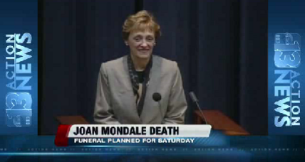 Family and political dignitaries remember Joan Mondale