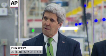 Kerry pushes climate change cooperation in Indonesia