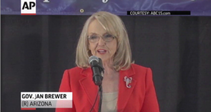 Conservative AZ Governor Jan Brewer says she won't run again