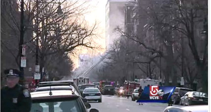 Two firefighters die in Boston brownstone fire (+video)