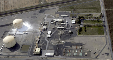 Washington plant fire leaves 5 hurt at natural gas processor
