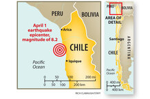 Chile earthquake: Is the 8.2 temblor only a foreshock ...