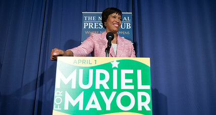 Voters reject D.C. mayor, catapult councilwoman to fore of the race (+video)
