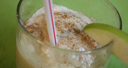 Apple pie à la mode smoothie