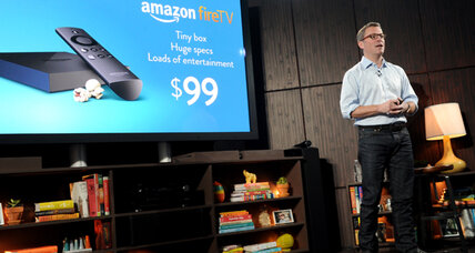 With Fire TV, Amazon moves into the living room