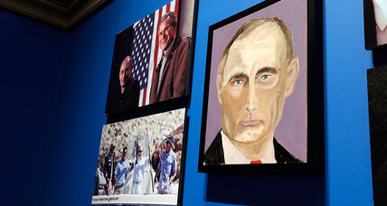 George W. Bush unveils his paintings of world leaders. Who looks best? (+video)