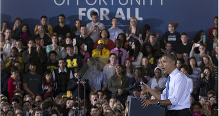 Michigan: Minimum wage increase a top priority for Obama