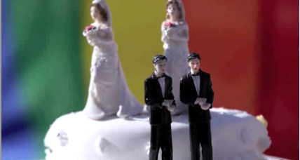 Same-sex marriage: How a wedding cake became a cause