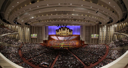 Mormon Church states opposition to gay marriage but hints at subtler shift