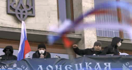 Pro-Russians seize eastern Ukraine government buildings