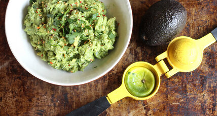 A new crunch for guacamole