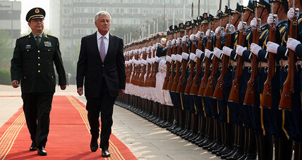 China warns it cannot be contained as US defense secretary visits (+video)