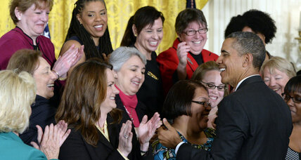 Equal pay: Can Obama's action overcome a cultural taboo? (+video)