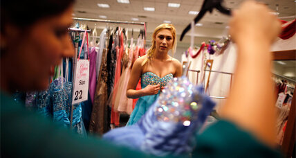 Prom bubble? Spending on prom night falls sharply.