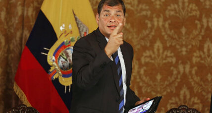 Does Ecuador's leader aspire to a perpetual presidency?