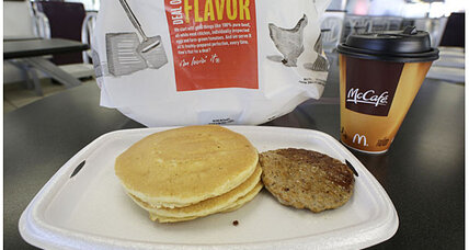 Taco Bell breakfast? McDonald's brings McGriddles to the breakfast war.