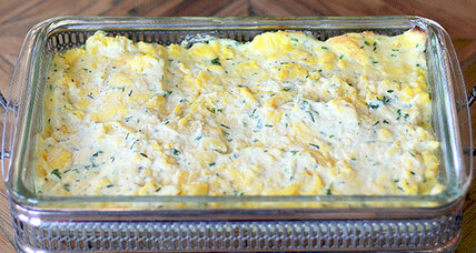 Easter brunch: Creamy scrambled egg casserole