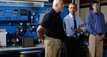 Obama, Biden pitch job training: Do reforms go far enough? (+video)