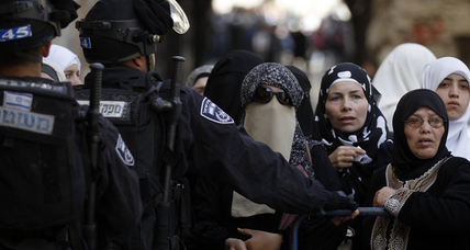 Jerusalem riot at holy site dispersed by Israel police