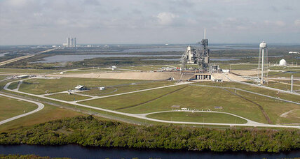 NASA hands historic launch pad to SpaceX